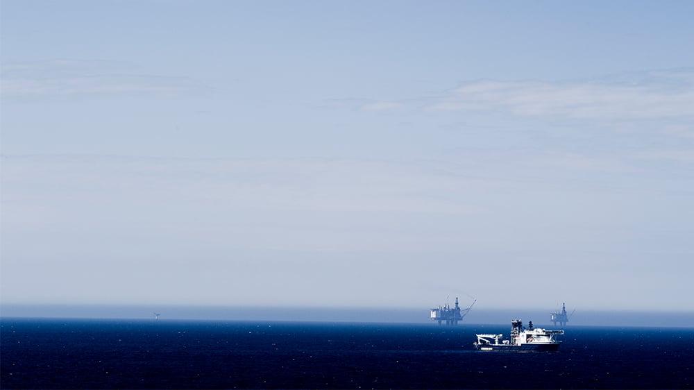 Borerigger på åpent hav